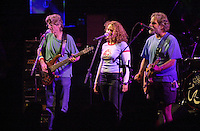 Phil Lesh, Joan Osborne & Bob Weir. The Dead in concert at Saratoga Performing Arts Center 20 June 2003