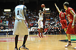 "Ole Miss' Jarvis Summers (32) vs. Illinois State in a National Invitational Tournament game at the C.M. ""Tad"" Smith Coliseum in Oxford, Miss. on Wednesday, March 14, 2012. Illinois State won 96-93 in overtime. (AP Photo/Oxford Eagle, Bruce Newman)"
