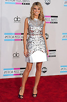 11/20/11 Los Angeles, CA: Hiedi Klum during the arrivals at the 2011 American Music Awards held at the Nokia Theatre.