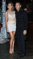 NEW YORK, NY - FEBRUARY 18: Chrissy Teigen, John Legend at the Sports Illustrated Swimsuit 50th Anniversary Party held at Swimsuit Beach House on February 18, 2014 in New York City. (Photo by Jeffery Duran/Celebrity Monitor)