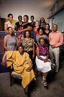 Slug: Ebony - Black Benefactors.Date: 06 - 07 - 2011.Photographer: Mark Finkenstaedt.Location: Dance Institute of Washington, 3400 14th Street, NW Washington.Caption: The Black Benefactors a group of DC based philanthropists to provide grants to non-profits serving the African American community.