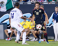 Mexico vs Cuba in the first round of the Concacaf Gold Cup at Bank of America Stadium in Charlotte North Carolina, Mexico won 5-0