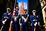 United States, New York, November 11, 2011..Members and Veterans of military forces take part in the Veterans Day Parade in New York, November 11, 2011. VIEWpress / Eduardo Munoz Alvarez..The Veterans Day Parade has been organized in New York since 1929. Over 25,000 people participate in the Veterans Day Parade in New York City each year, making it the largest in the nation..Local Media Report.