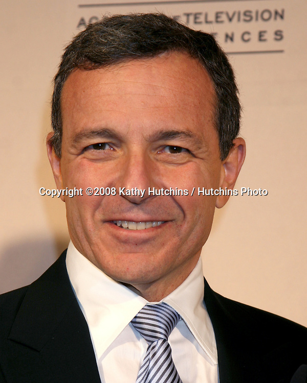 Robert Iger arriving at the Television Academy Hall of Fame Ceremony in Beverly Hills, CA .December 9, 2008.©2008 Kathy Hutchins / Hutchins Photo....                .