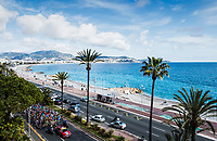 Picture by Alex Broadway/SWpix.com - 12/03/17 - Cycling - 2017 Paris Nice - Stage Eight - Nice to Nice - The peloton rides along the Nice seafront.