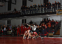 NCAA Wrestling: VMI ekes out 21-20 win over Davidson on the strength of Adams's major decision at heavyweight