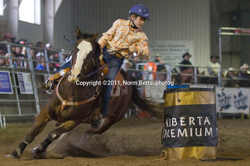 The RAM Rodeo Tour Finals weekend, October 14-16, 2011 in Newmarket, Ontario, Canada.<br /> &copy;2011 Norm Betts, photographer <br /> tel. 416 460 8743 <br /> normbetts@canadianphotographer.com