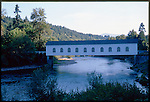 The Goodpasture Bridge spans the McKenzie River near the unincorporated community of Vida in Lane County, Oregon, United States. It is the longest covered bridge in the state still open to traffic. It is also one of the most photographed covered bridges in the state. The Goodpasture Bridge is listed on the National Register of Historic Places.