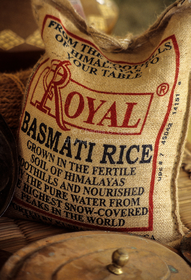 Muscat, Oman.  Indian Basmati Rice, Popular in Oman.