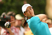 January 13, 2005; Honolulu, HI, USA;  15 year old amateur Michelle Wie tees off on the 9th hole during the 1st round of the PGA Sony Open golf tournament held at Waialae Country Club.  Wie shot a 5 over par 75 for the day.<br />