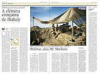 Tearsheet of &quot;Mali War: Diabaly&quot; published in Expresso