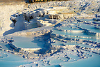 Photo  of Pamukkale Travetine Terrace, Turkey. Images of the white Calcium carbonate rock formations. Buy as stock photos or as photo art prints. 10