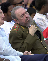 18 April 2004- Cuban President Fidel Castro . Credit: Jorge Rey/MediaPunch