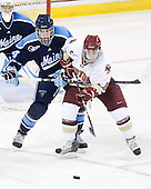 Ryan Hegarty (Maine - 44), Barry Almeida (BC - 9) - The Boston College Eagles defeated the visiting University of Maine Black Bears 4-0 on Friday, November 19, 2010, at Conte Forum in Chestnut Hill, Massachusetts.