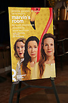 Theatre poster art for the photo call for the Roundabout Theatre Company's production of 'Marvin's Room'  at American Airlines Theatre on May 11, 2017 in New York City.