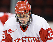 Kevin Gilroy (BU - 16) - The visiting University of Vermont Catamounts tied the Boston University Terriers 3-3 in the opening game of their weekend series at Agganis Arena in Boston, Massachusetts, on Friday, February 25, 2011.