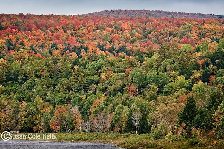 Appalachian Trail crossing the Kennebec River, Caratunk, ME