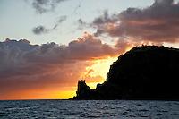 Sunset looking towards Rams Head<br /> St. John<br /> U.S. Virgin Islands