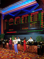 Caesars, Las Vegas, NV, Casino Sports Betting Room