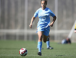 North Carolina's Casey Nogueira on Saturday, March 3rd, 2007 on Field 1 at SAS Soccer Park in Cary, North Carolina. The Duke University Blue Devils played the University of North Carolina Tarheels in an NCAA Division I Women's Soccer spring game.