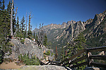 Washington Pass in the Cascade Mountains, Washington State