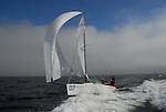 Sailing Melges 24 at Santa Cruz