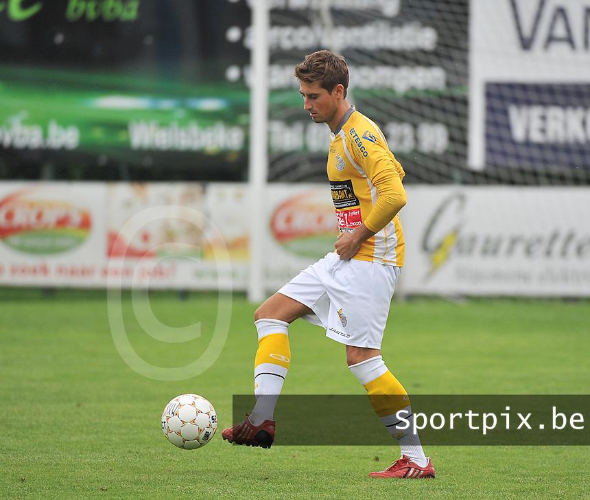 SC Wielsbeke : Ludovic Goeminne<br /> foto VDB / Bart Vandenbroucke