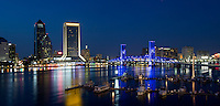 Jacksonville Skyline at Night 6-3-12