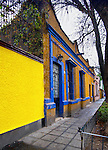 Mexico, Mexico City, Coyoacan Neighborhood, Place of Coyotes, Historic Homes
