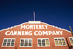 California: Monterey, Cannery Row, Monterey Canning Company Building, Photo: canner102.Photo copyright Lee Foster, 510/549-2202, lee@fostertravel.com, www.fostertravel.com