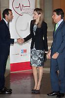 Queen Letizia of Spain Presents Health Book