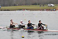 394 CardiffUnivBC SEN.4x‐..Marlow Regatta Committee Thames Valley Trial Head. 1900m at Dorney Lake/Eton College Rowing Centre, Dorney, Buckinghamshire. Sunday 29 January 2012. Run over three divisions.