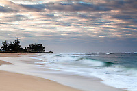 Kekaha Beach sunrise, east shore, Kauai, Hawaii.