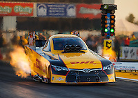 Sep 23, 2016; Madison, IL, USA; NHRA funny car driver Del Worsham during qualifying for the Midwest Nationals at Gateway Motorsports Park. Mandatory Credit: Mark J. Rebilas-USA TODAY Sports