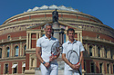 Sporting legends Mark Foster and Tim Henman launch the partnership between Champions Tennis and Sports Aid, at the Royal Albert Hall. Sports Aid helps young, British sports people and has been responsible for funding some of the country's top athletes.
