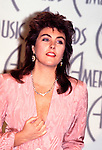 Laura Branigan 1986 American Music awards..© Chris Walter..