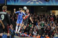 FUSSBALL   CHAMPIONS LEAGUE   SAISON 2011/2012     13.08.2011 FC Chelsea London - Bayer 04 Leverkusen Fernando Torres (li, FC Chelsea) gegen Stefan Reinartz (Bayer 04 Leverkusen)