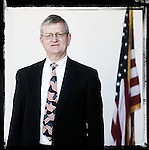 Veteran Ed Roberts poses for a photo at a Veterans Day Program at the Oxford Conference Center in Oxford, Miss. on Thursday, November 11, 2010.