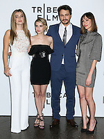 """LOS ANGELES, CA, USA - MAY 05: Zoe Levin, Emma Roberts, James Franco, Gia Coppola at the Los Angeles Premiere Of Tribeca Film's """"Palo Alto"""" held at the Directors Guild of America on May 5, 2014 in Los Angeles, California, United States. (Photo by Celebrity Monitor)"""
