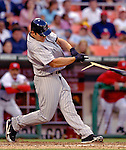 12 June 2006: Matt Holliday, outfielder for the Colorado Rockies, breaks his bat at the plate during a game against the Washington Nationals at RFK Stadium, in Washington, DC. The Rockies defeated the Nationals 4-3 in the first game of the four game series...Mandatory Photo Credit: Ed Wolfstein Photo..