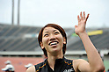 Chisato Fukushima (JPN), APRIL 29, 2012 - Athletics: The 46th Mikio Oda Memorial Athletic Meet, JAAF Track & Field Grand Prix Rd.3, during Women's 100m final at Hiroshima Kouiki Kouen (Hiroshima Big arch) in Hiroshima, Japan. (Photo by Jun Tsukida/AFLO SPORT) [0003]