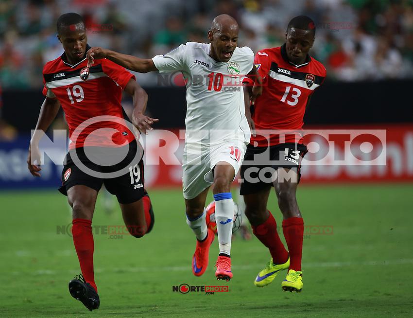 Acciones durante en partido entre las selecciones de Cuba vs Trinidad   &amp; Tobago de la Copa Oro CONCACAF 2015. Estadio de la Universidad de Arizona.<br /> Phoenix Arizona a 12 de Julio 2015.