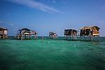 Bajau Laut's pile dwelling