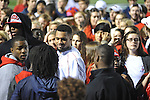 Donte Moncrief attends filming of a new &quot;Feed Moncrief&quot; video at Vaught-Hemingway Stadium in Oxford, Miss. on Thursday, December 6, 2012.