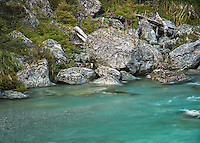 Route Burn River, Mount Aspiring National Park, Central Otago, New Zealand, NZ