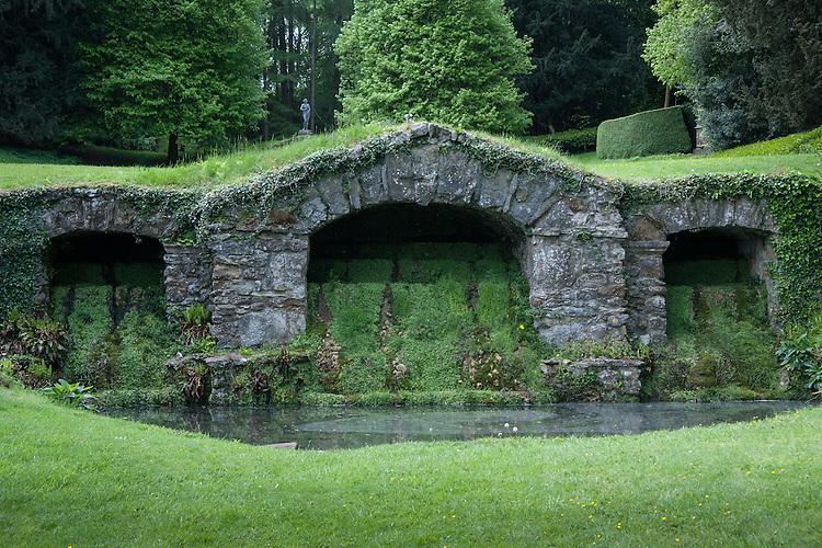 Lower Cascade, Rousham House and Garden.