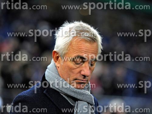 Football: Germany, DFB-Pokal, Hamburger SV - FC Bayern Muenchen, Muenchen, 12.02.2014<br /> coach Bert van Marwijk (Hamburg)<br /> &Atilde;'&Acirc;&copy;&Atilde;'&Acirc;&nbsp;pixathlon