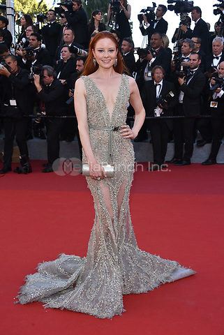 Barbara Meier<br /> arrivals at the opening gala premiere at the 70th Cannes Film Festival, France, May 17, 2017<br /> CAP/Phil Loftus<br /> &copy;Phil Loftus/Capital Pictures /MediaPunch ***NORTH AND SOUTH AMERICAS ONLY***