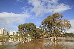 The rain pool in Netanya