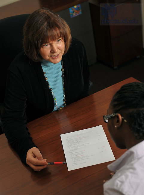 Law School Career Services..Photo by Matt Cashore/University of Notre Dame